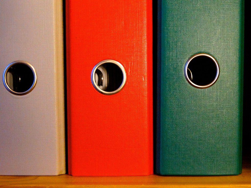 folder, federal folder, file